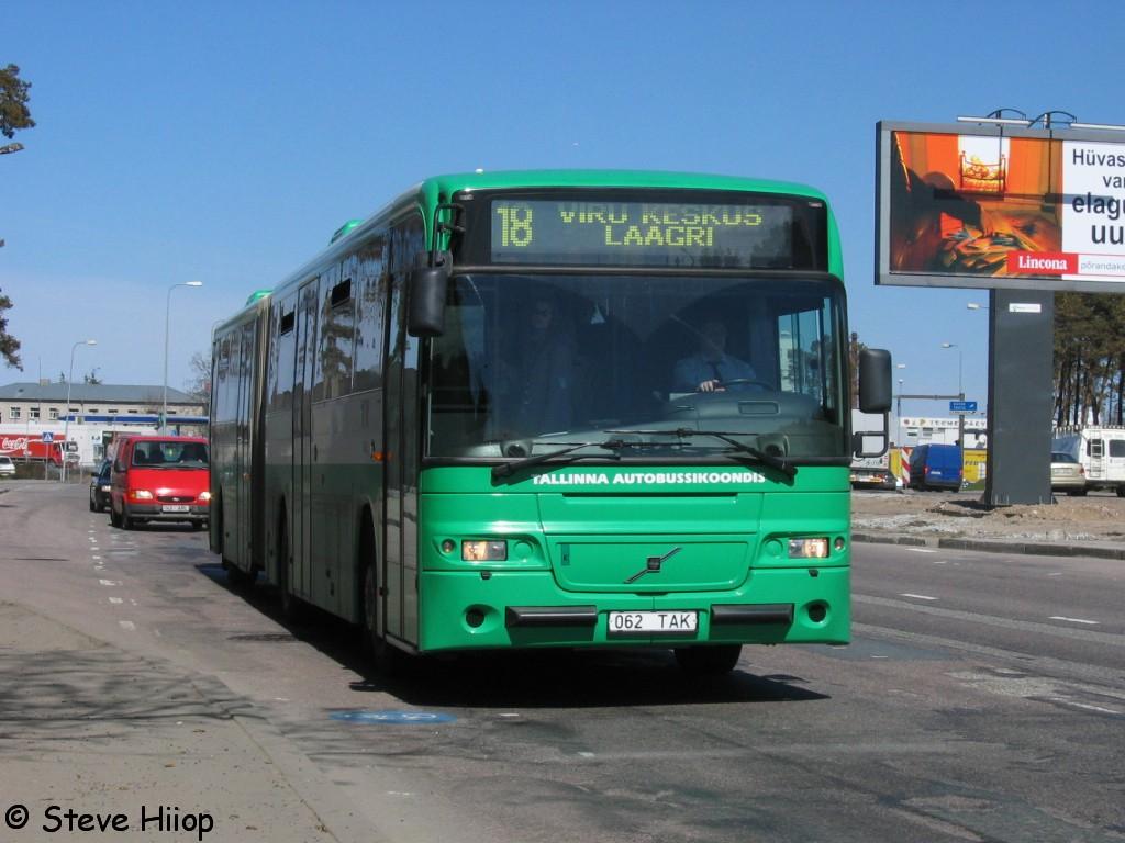 Tallinn, Volvo 8500 № 1062