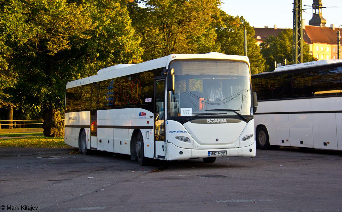 Tallinn, Scania OmniLine IK310IB № 892 MGY