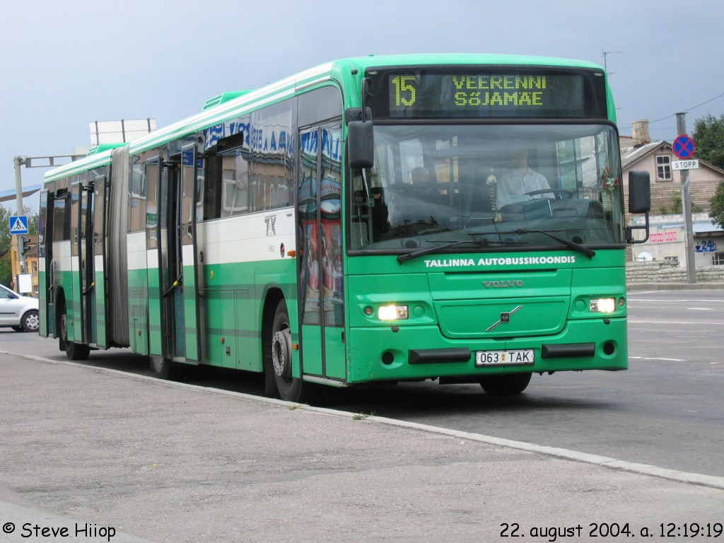 Tallinn, Volvo 8500 № 1063