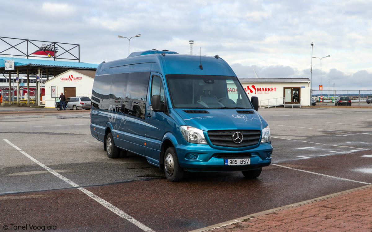 Tallinn, Mercedes-Benz Sprinter 519CDI № 985 BSV