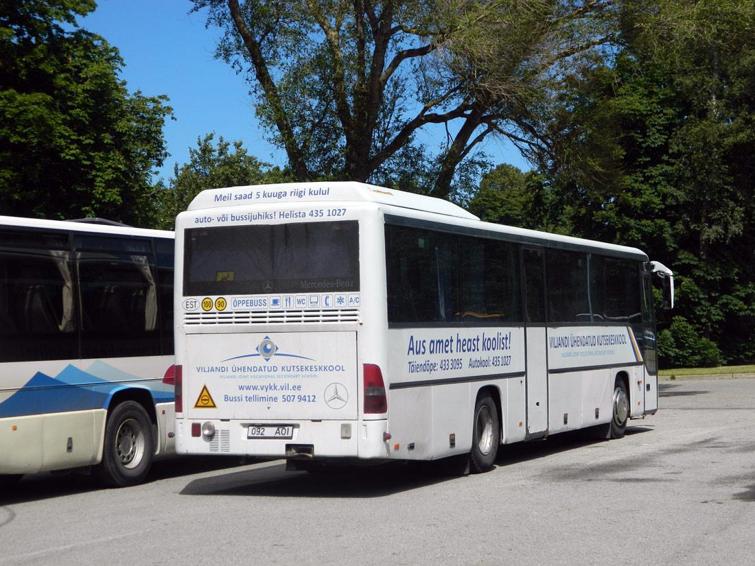 Viljandi, Mercedes-Benz O560 Intouro № 092 AOI Tallinn — XXVI laulu- ja XIX tantsupidu (Aja puudutus. Puudutuse aeg)