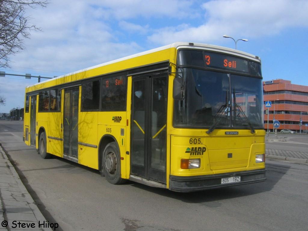 Tallinn, Duple Metsec T-56 City № 605