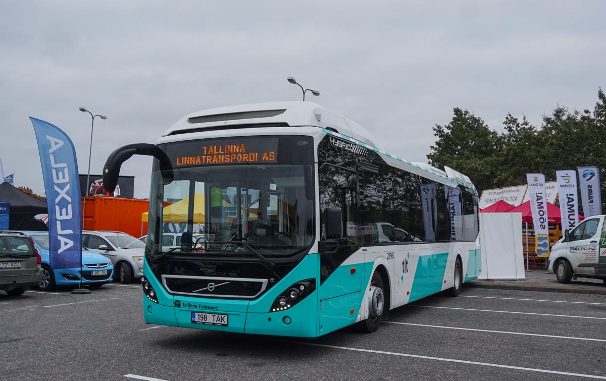 Tallinn, Volvo 7900 Hybrid № 2198