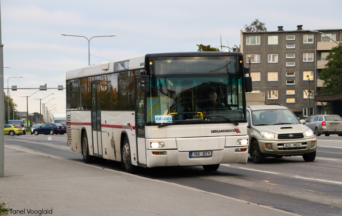 Maardu, MAN A72 Lion's Classic SÜ313 № 166 BTY