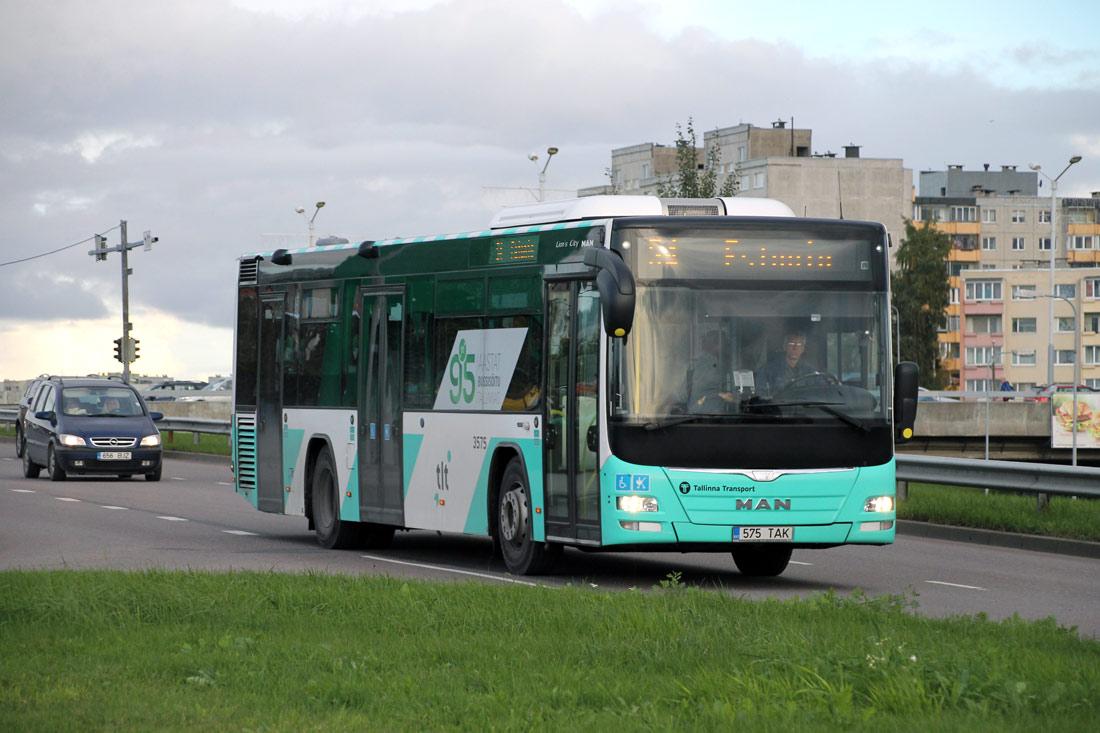 Tallinn, MAN A78 Lion's City LE № 3575