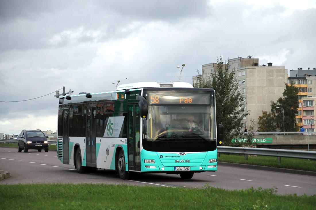 Tallinn, MAN A78 Lion's City LE № 3394