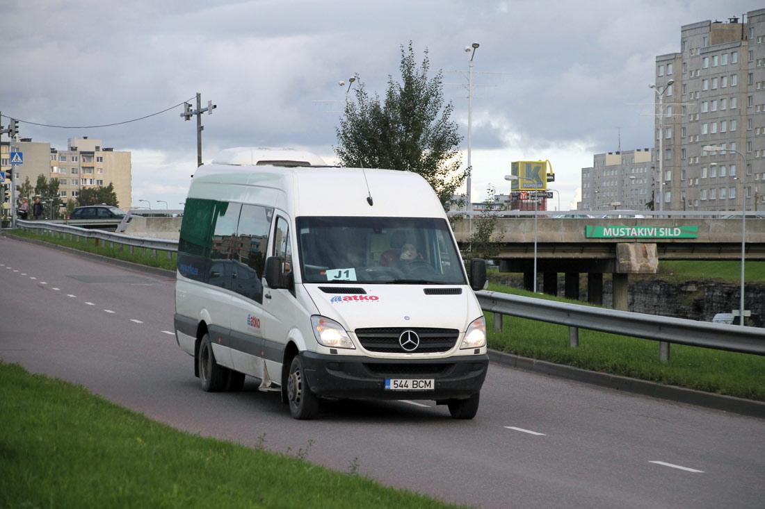 Tallinn, Mercedes-Benz Sprinter 518CDI № 544 BCM