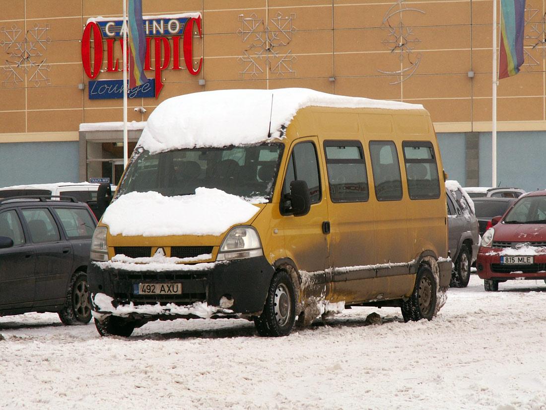 Tallinn, Renault Master № 492 AXU