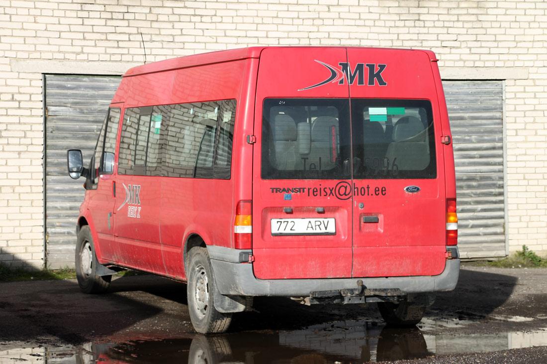 Rakvere, Ford Transit 350L Bus № 772 ARV