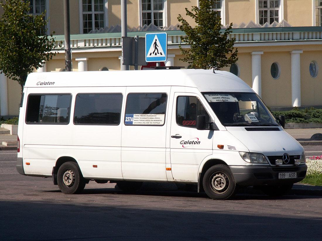 Tallinn, Mercedes-Benz Sprinter 313CDI № 199 ASR