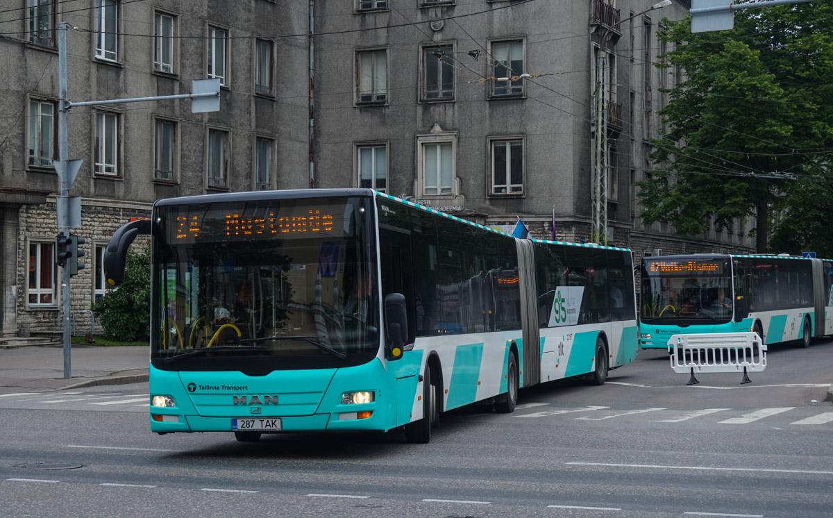 Tallinn, MAN A40 Lion's City GL NG323 № 2287