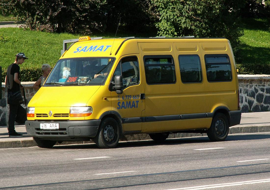 Saku, Renault Master № 416 ARA