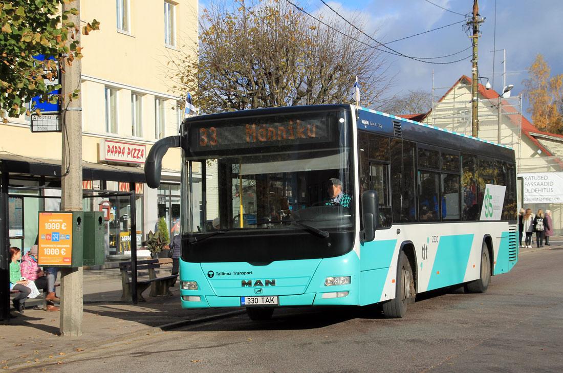 Tallinn, MAN A78 Lion's City LE № 2330