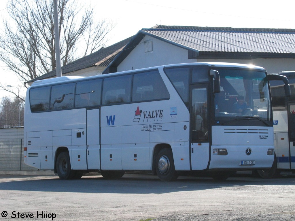 Põlva, Mercedes-Benz O350-15SHD Tourismo № 190 AOE
