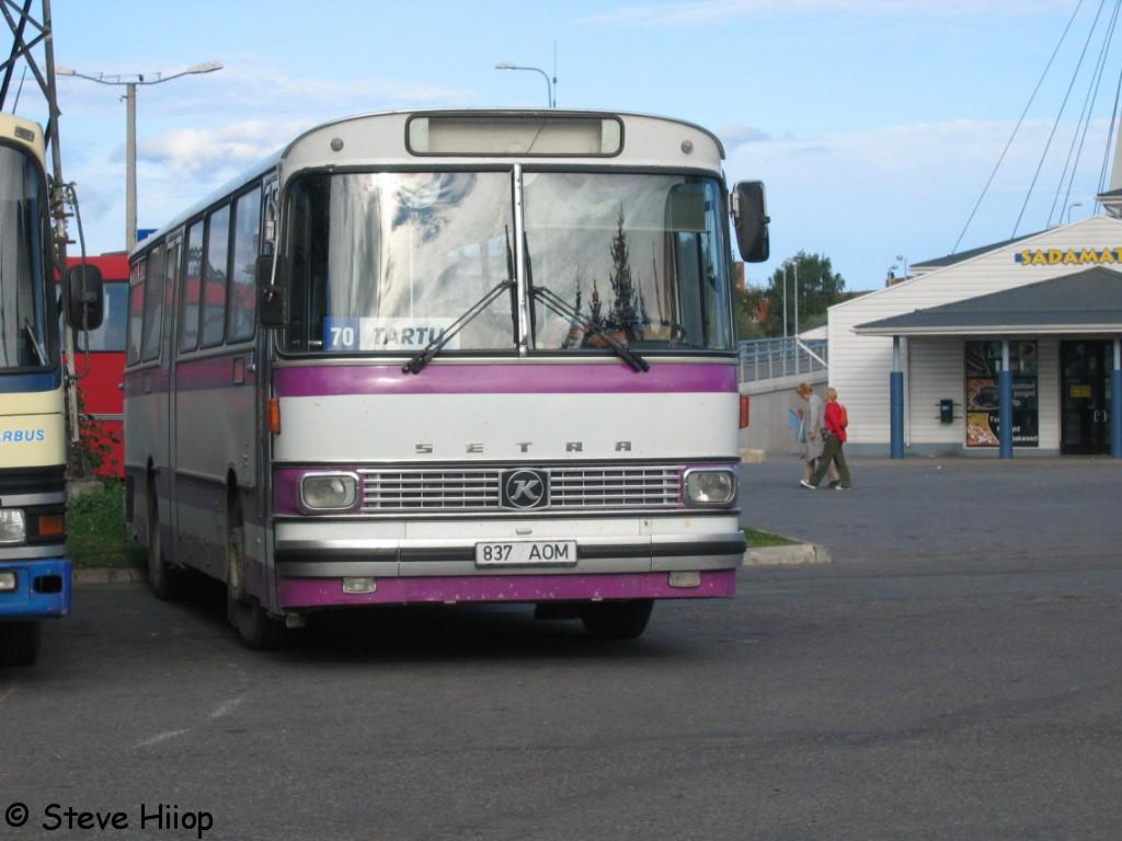 Põlva, Setra S140 № 837 AOM