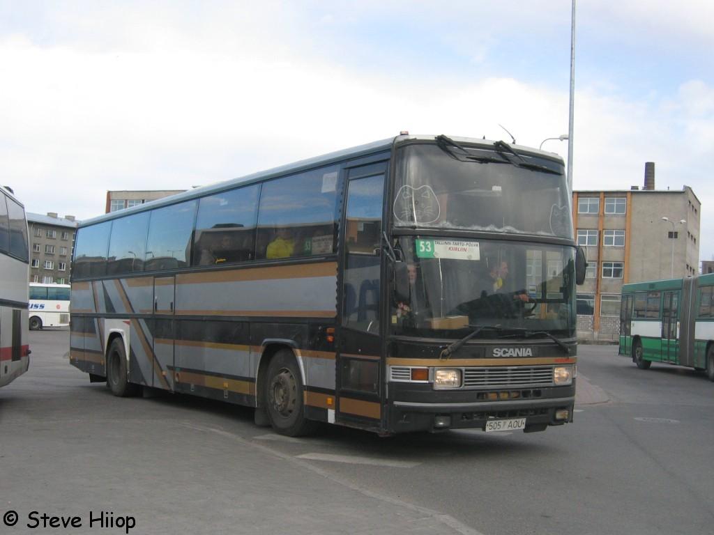 Põlva, Jonckheere Jubilee P599 № 505 AOU