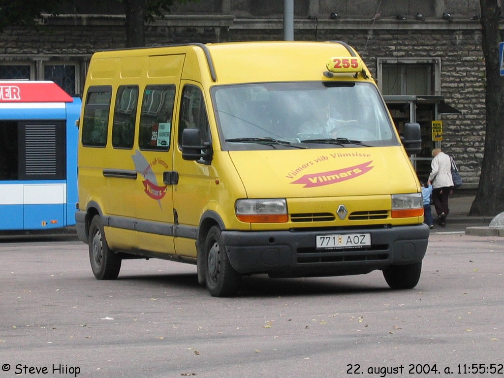 Tallinn, Renault Master № 771 AOZ