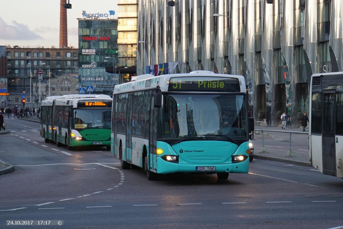 Tallinn, Scania OmniLink CL94UB № 3025