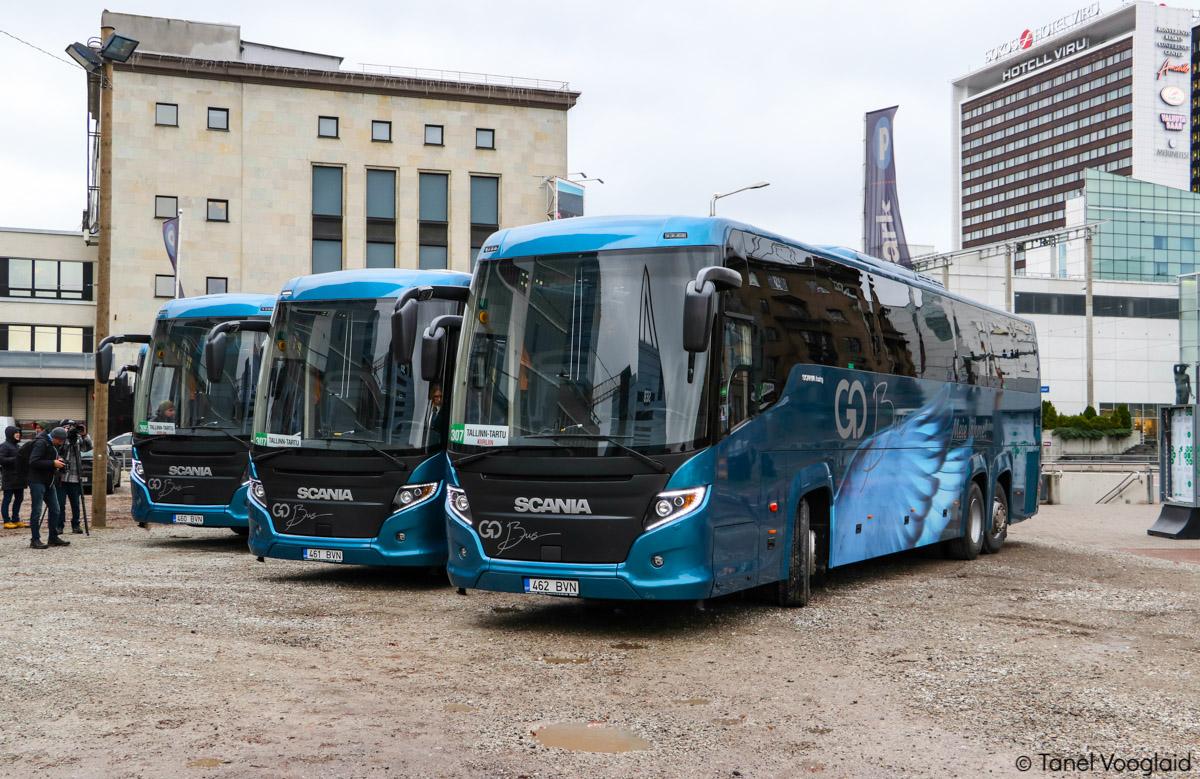Tallinn, Scania Touring HD (Higer A80T) № 462 BVN VARIA (Tallinn)