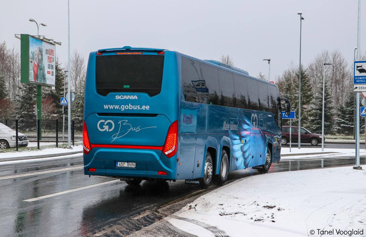 Tallinn, Scania Touring HD (Higer A80T) № 457 BVN
