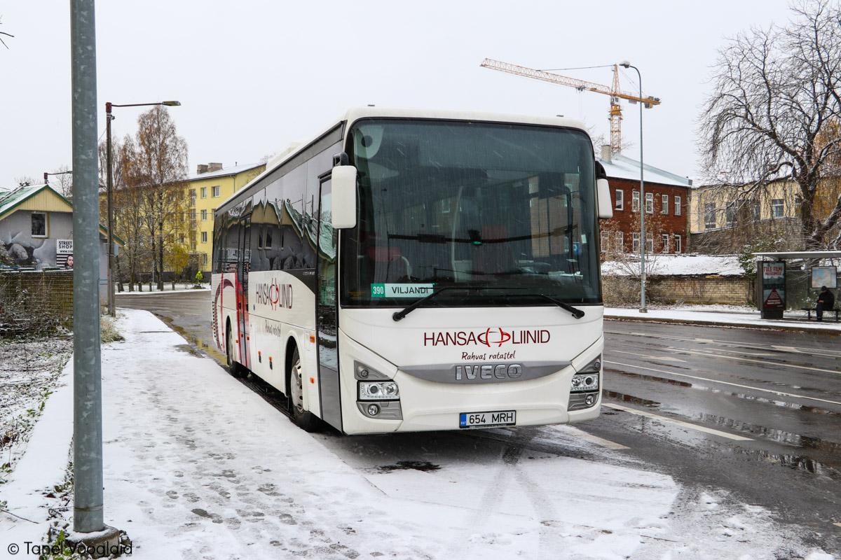 Viljandi, IVECO Crossway Line 12M № 654 MRH