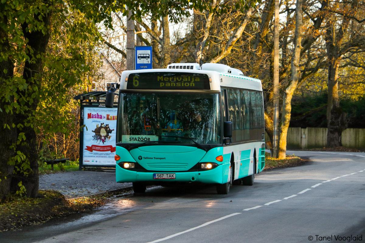 Tallinn, Scania OmniLink CL94UB № 3567