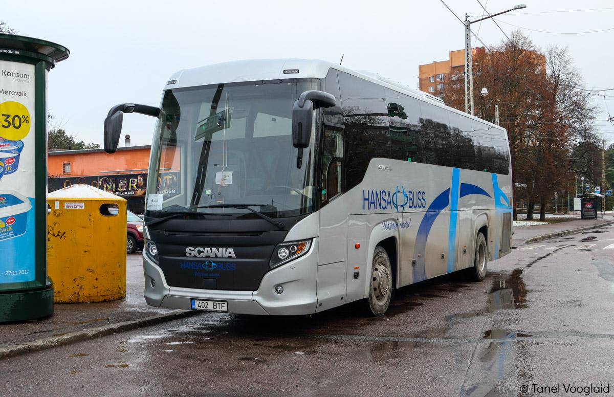 Tallinn, Scania Touring HD (Higer A80T) № 402 BTF