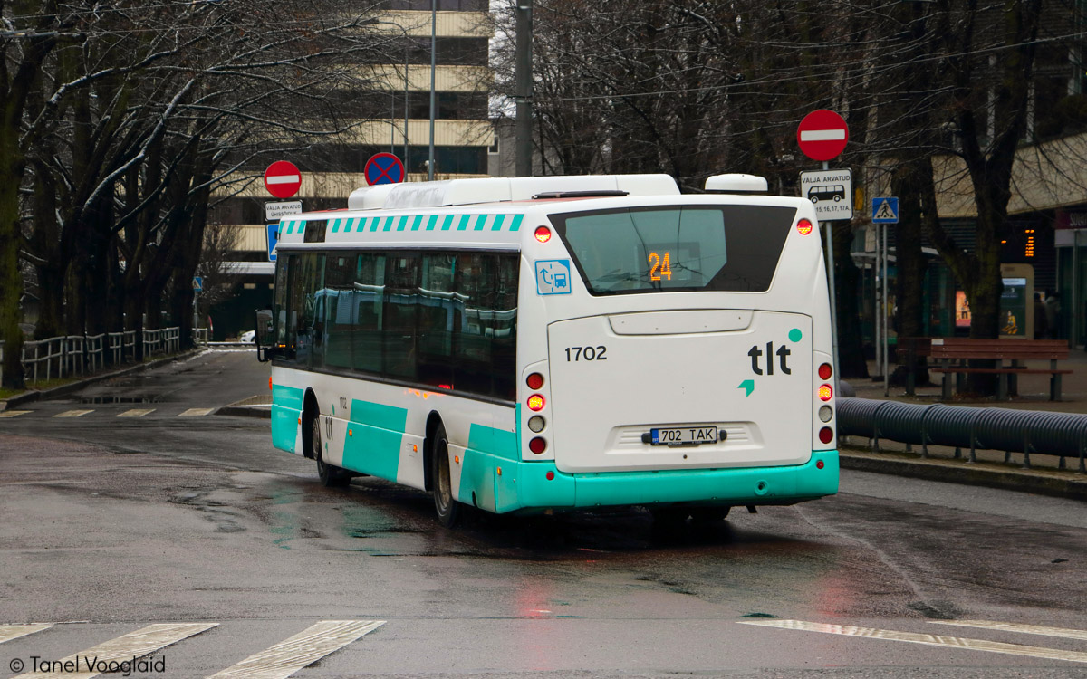 Tallinn, Scania OmniCity CN270UB 4X2EB № 1702