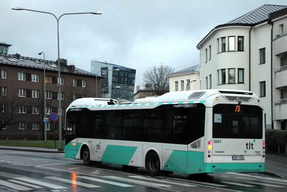 Tallinn, Volvo 7900 Hybrid № 1861