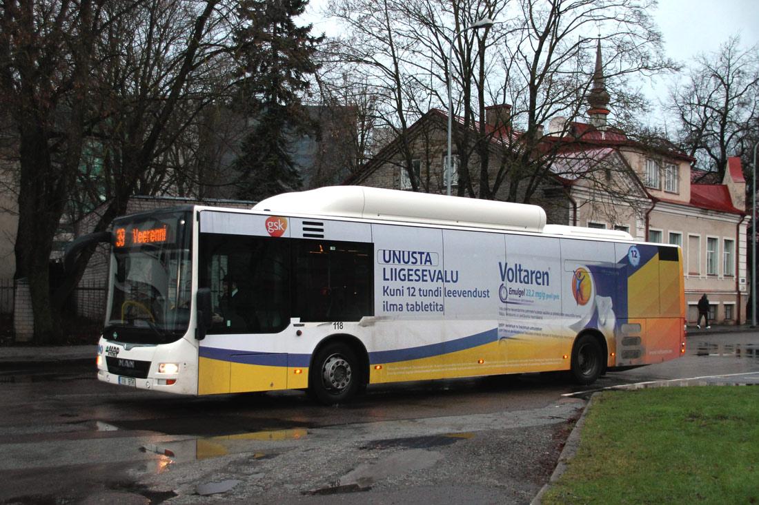 Tallinn, MAN A21 Lion's City NL313 CNG № 118