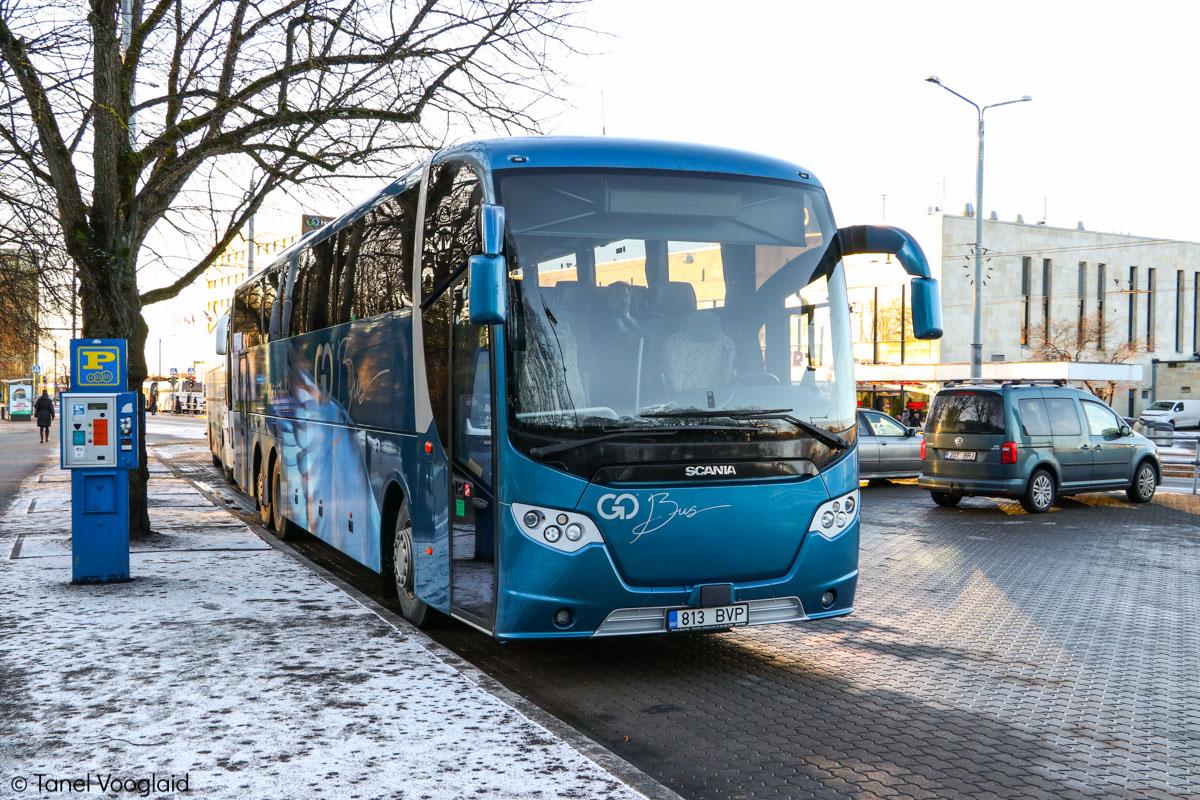 Kärdla, Scania OmniExpress 360 № 813 BVP