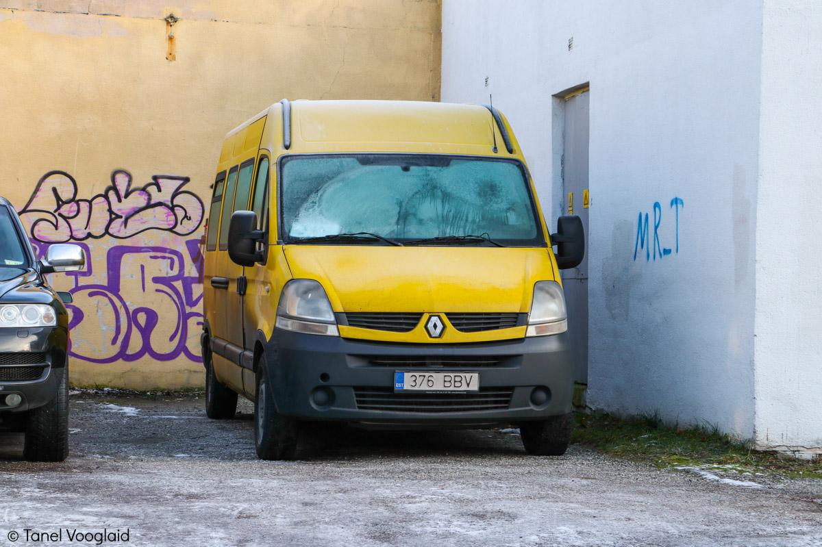 Tallinn, Renault Master T35 № 376 BBV
