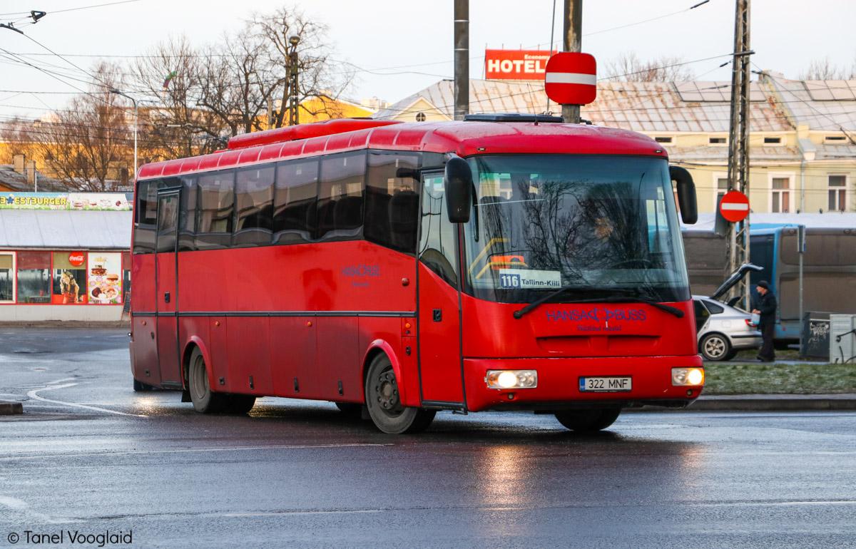 Tallinn, SOR LH 10.5 № 322 MNF
