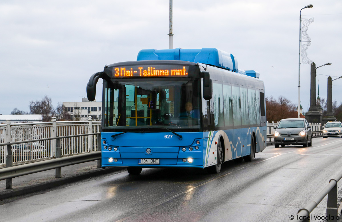 Pärnu, Solbus Solcity SM12 CNG № 627