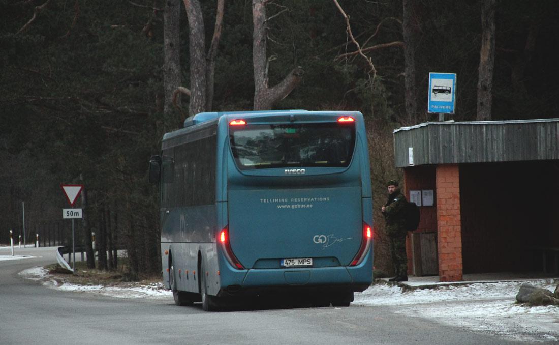 Haapsalu, IVECO Crossway Line 12M № 475 MPS PEATUSED