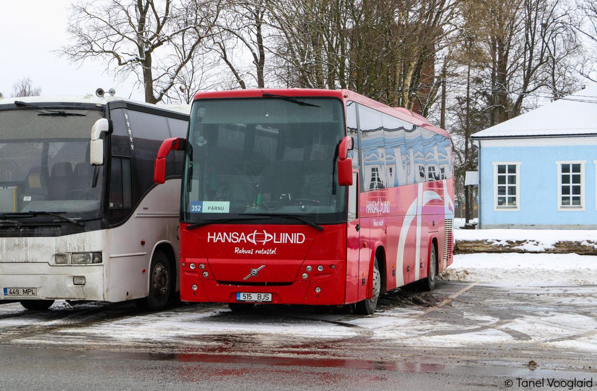 Pärnu, Volvo 9900 № 515 BJS