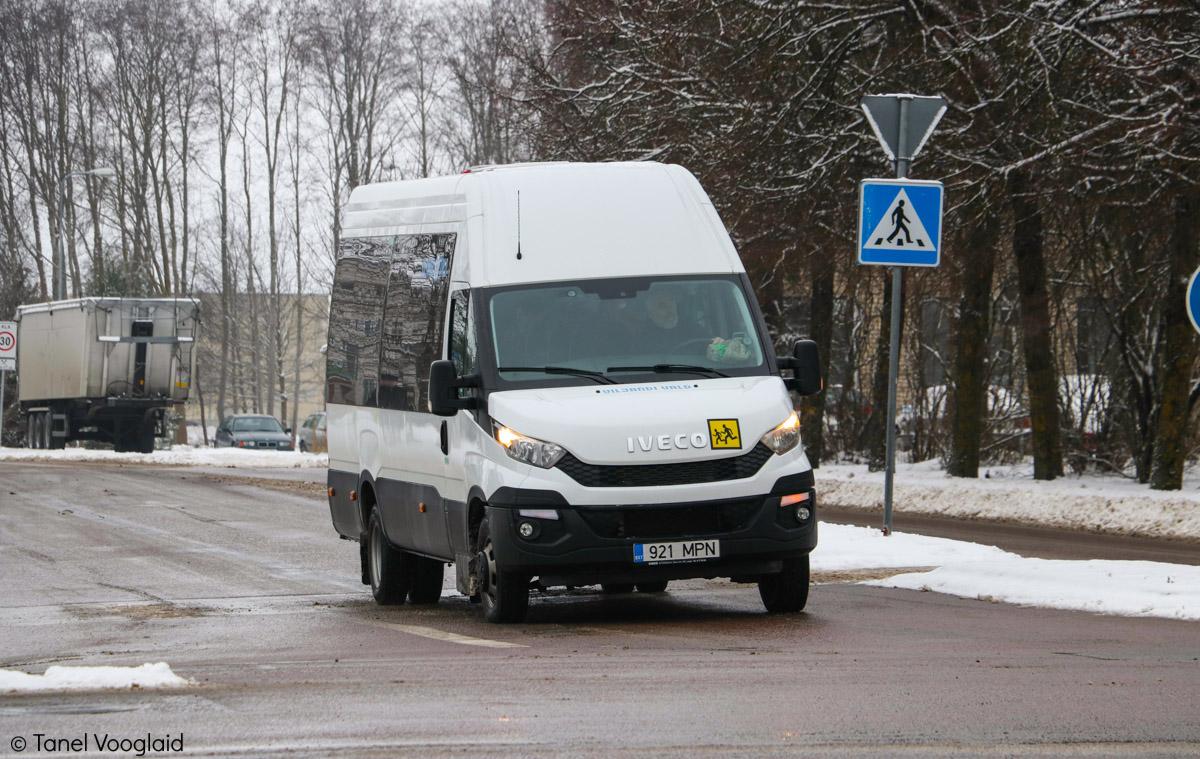 Viljandi, IVECO Daily 50C17 № 921 MPN