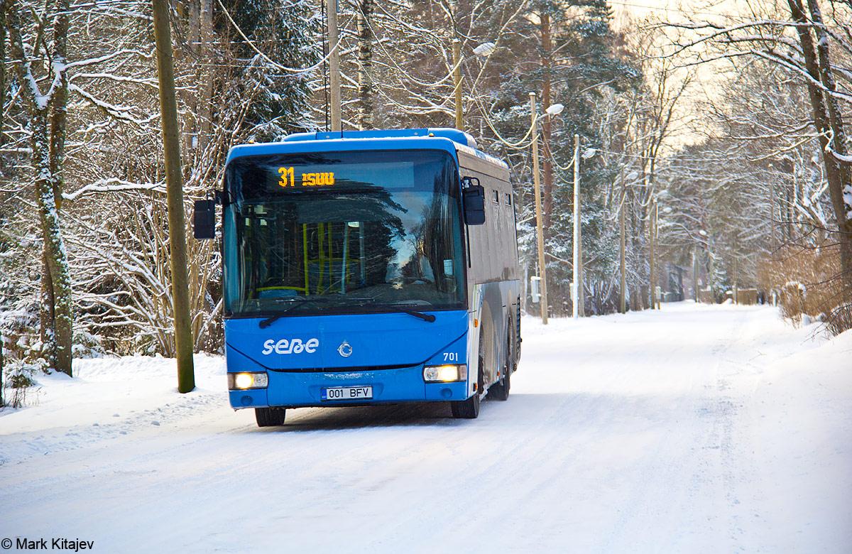 Jõhvi, Irisbus Crossway LE 12M № 701