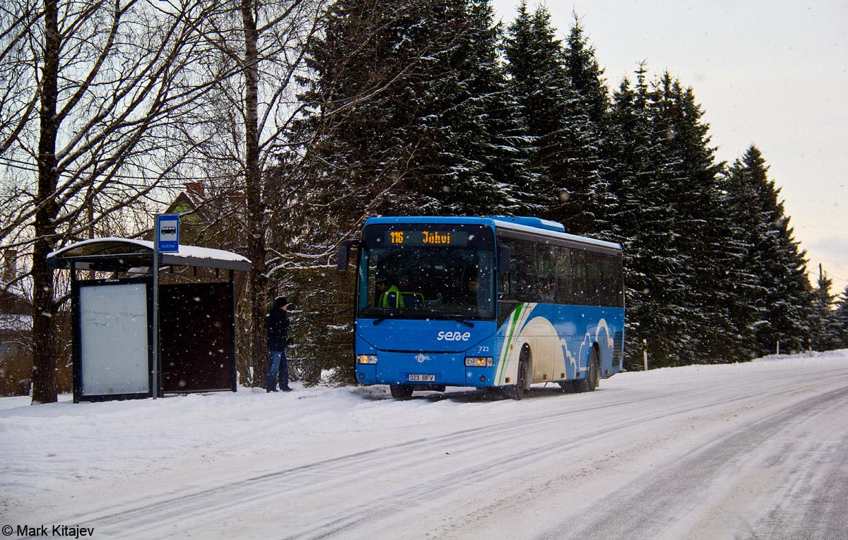 Jõhvi, Irisbus Crossway 12M № 723