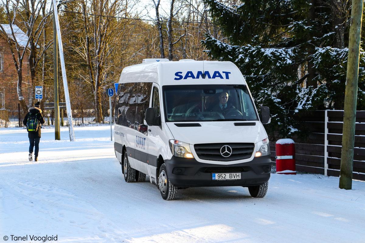 Saku, Mercedes-Benz Sprinter 516CDI № 952 BVH