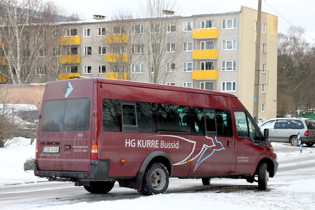 Kehtna, Ford Transit 430L EF Bus № 290 AVA