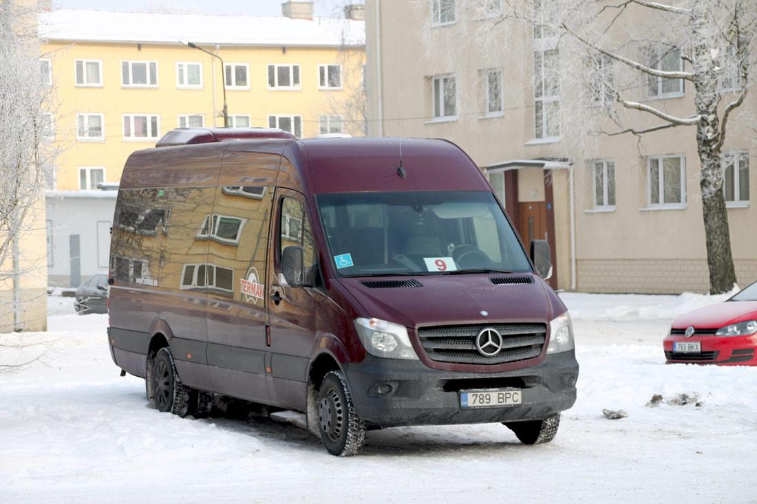 Tallinn, Mercedes-Benz Sprinter 516CDI № 789 BPC