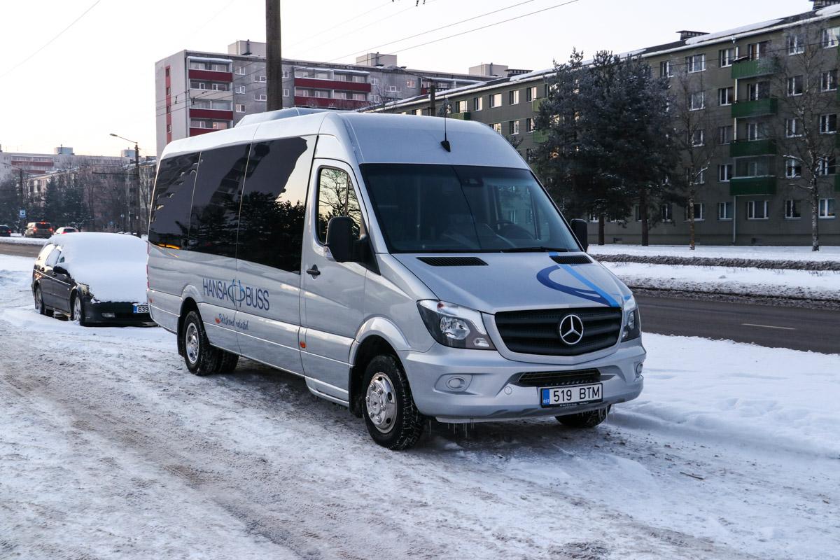 Tallinn, Mercedes-Benz Sprinter 519CDI № 519 BTM