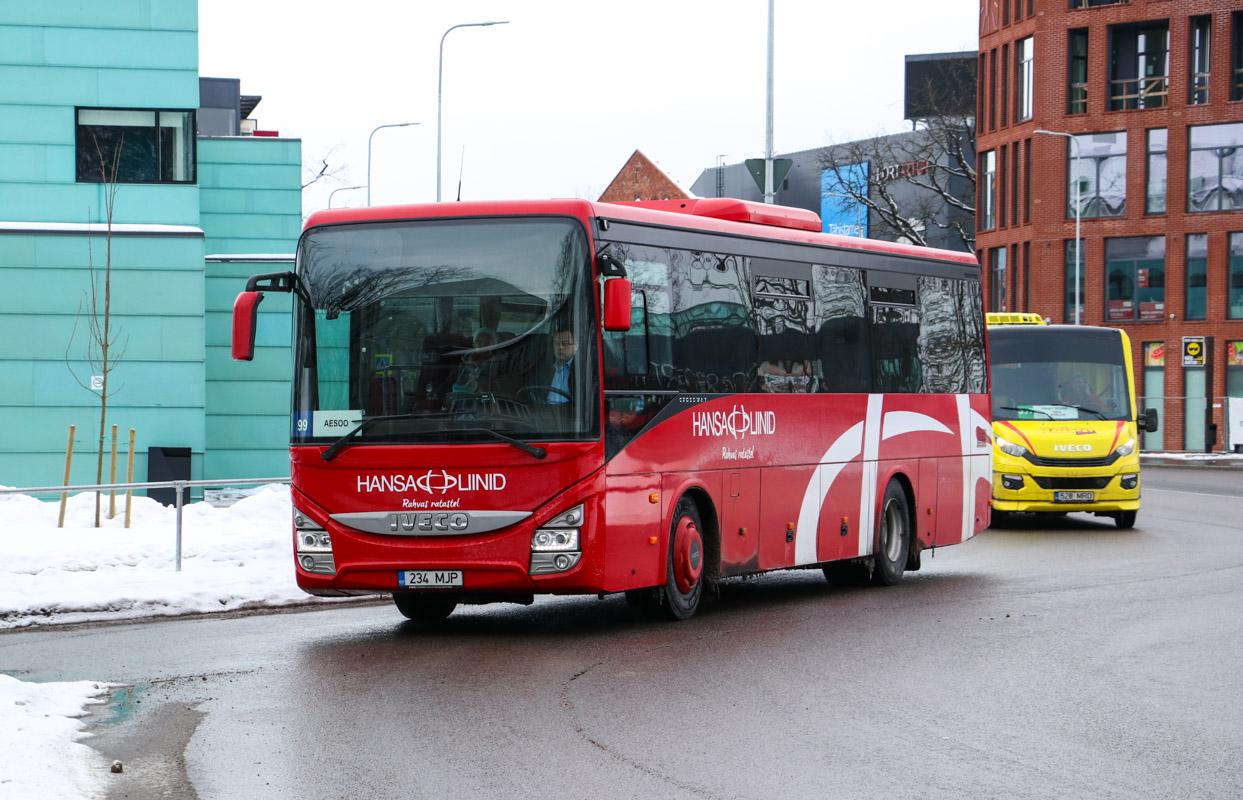 Pärnu, IVECO Crossway Line 10.8M № 234 MJP