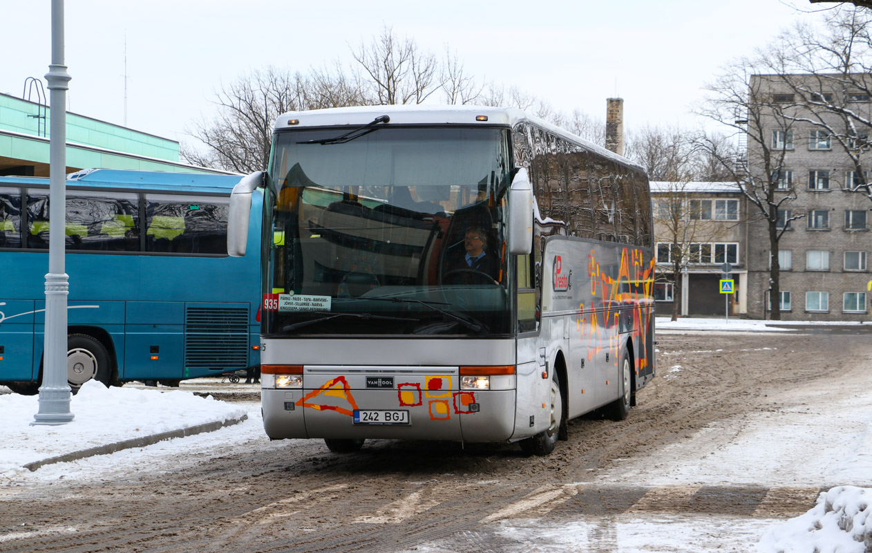 Pärnu, Van Hool T915 Acron № 242 BGJ
