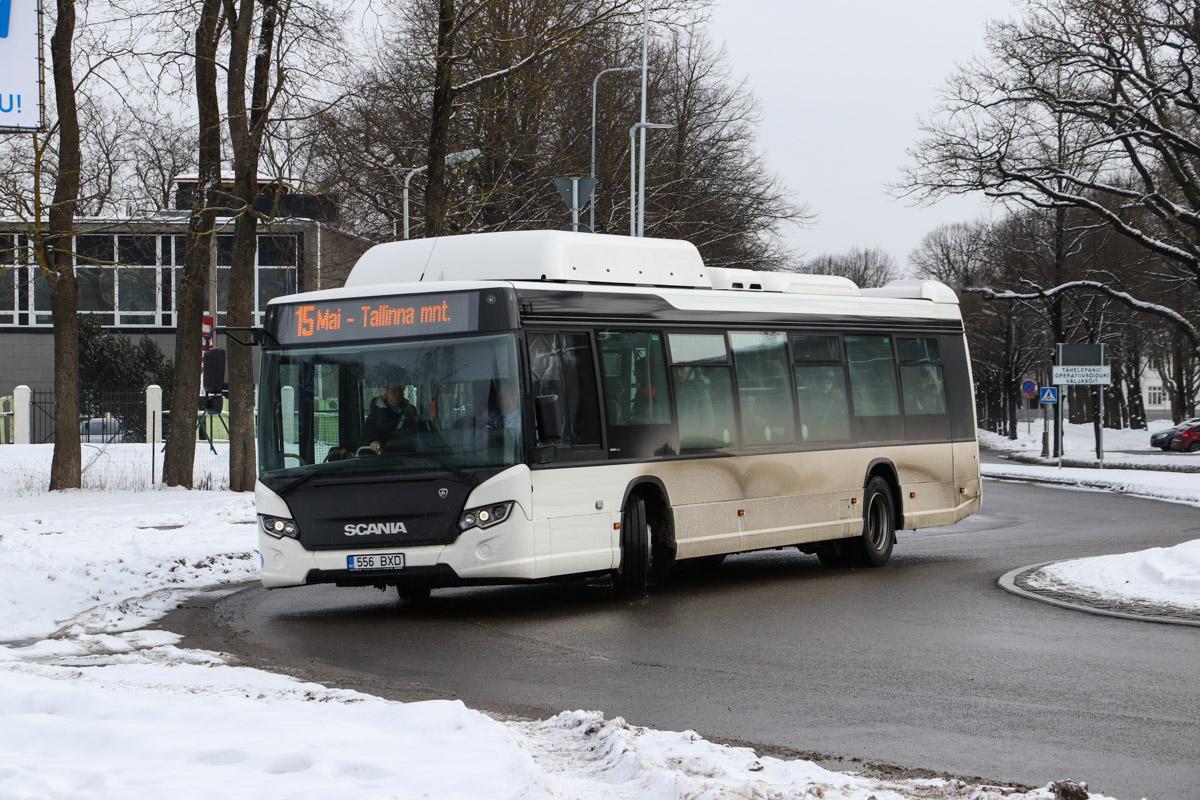 Pärnu, Scania Citywide LF CNG № 556 BXD