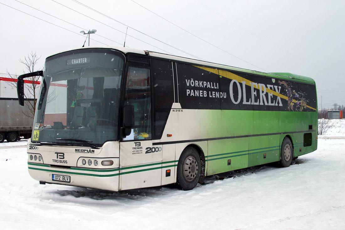 Tartu, Neoplan N316K Euroliner № 072 BLV