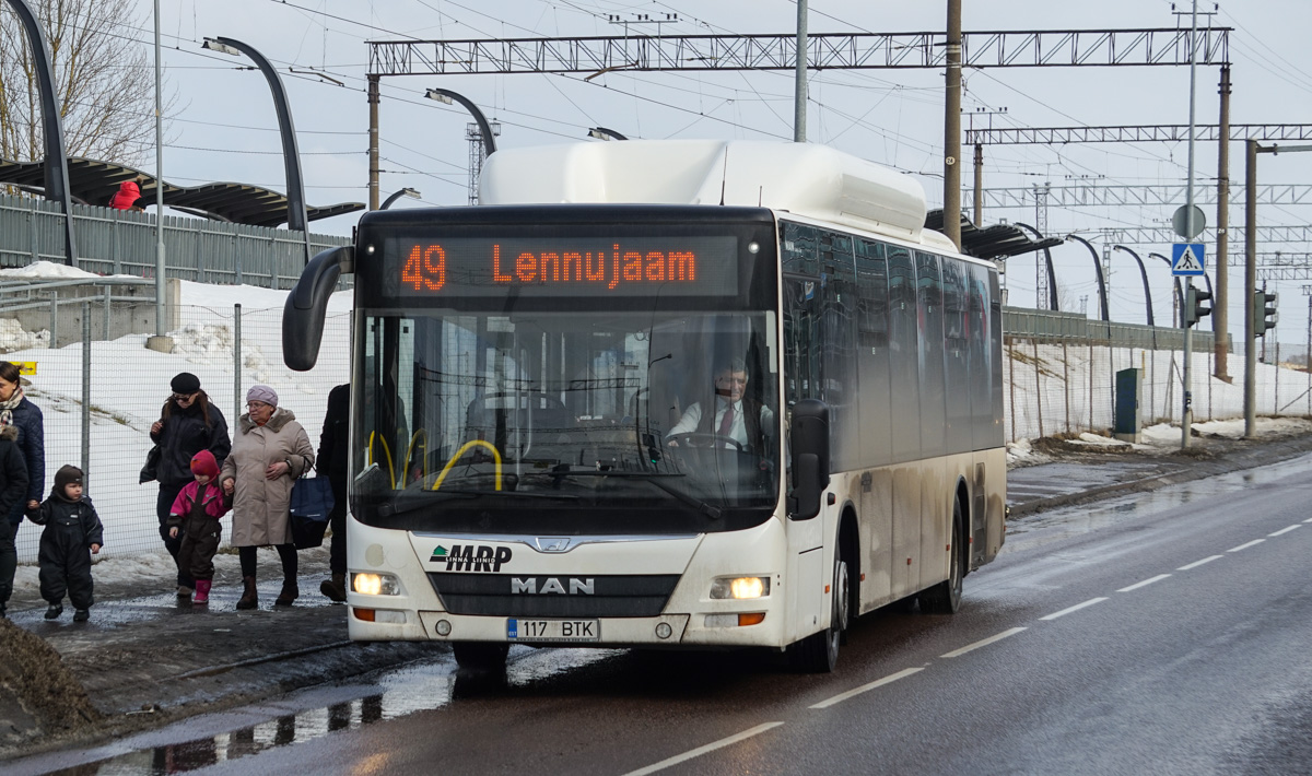 Tallinn, MAN A21 Lion's City NL313 CNG № 117