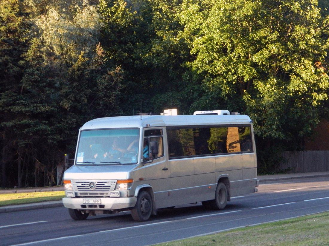 Paide, Mercedes-Benz Vario O815D № 315 APP Tallinn — XXVI laulu- ja XIX tantsupidu (Aja puudutus. Puudutuse aeg)