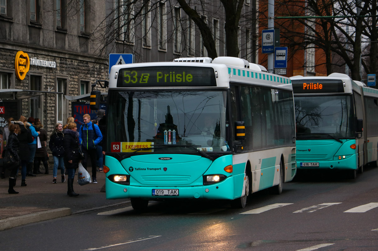 Tallinn, Scania OmniLink CL94UB № 3019